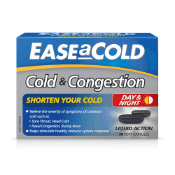 EaseaCold Cold & Congestions Caps 30s