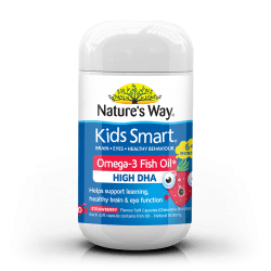 Omega-3 Strawberry Fish Oil
