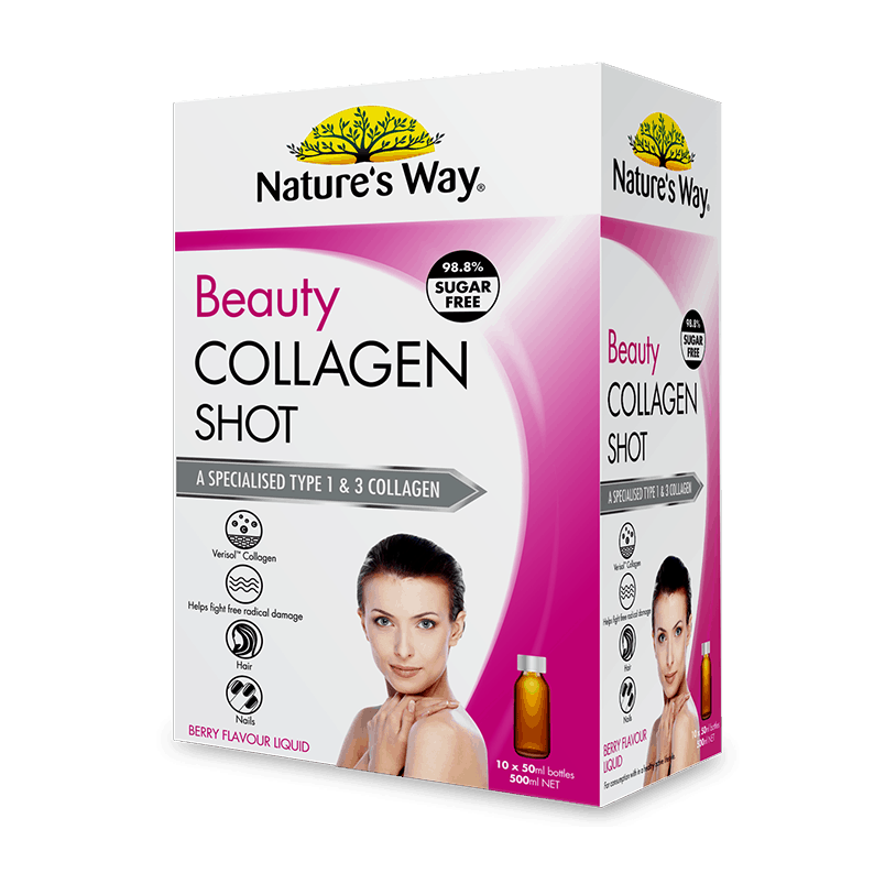 Nature's Way Beauty Collagen Shot 10 pack