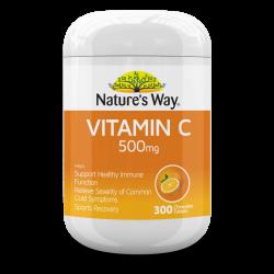 Nature's Way Vitamin C 500mg