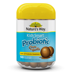 Nature's Way Kids Smart Restore Probiotic Choc Balls