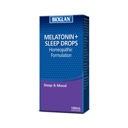 Melatonin sleep drops